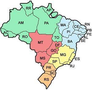 ipva por regioes