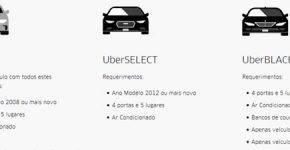 uber carros