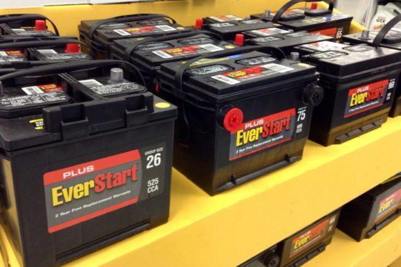 descarte de baterias