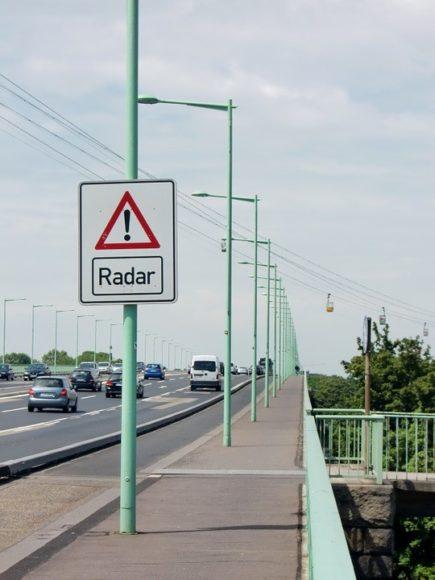 radar tem 10% de tolerância