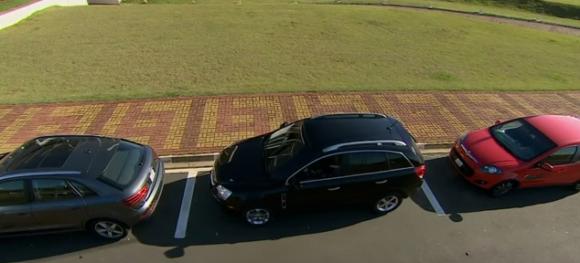 Saiba como estacionar o veículo corretamente.